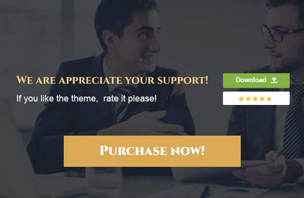 Buy The Lawyer WordPress Theme and rate it 5 star!